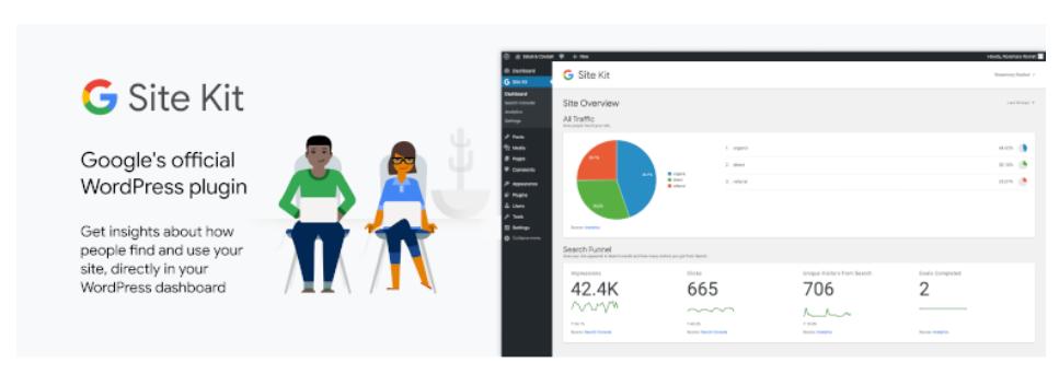 Site Kit, le plugin Google pour WordPress